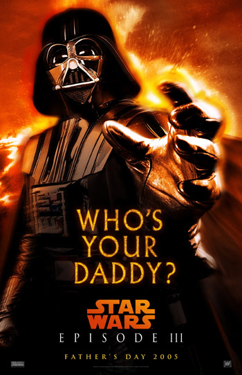 Darth Vader Who's Your Daddy?