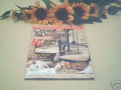 create decorate magazine