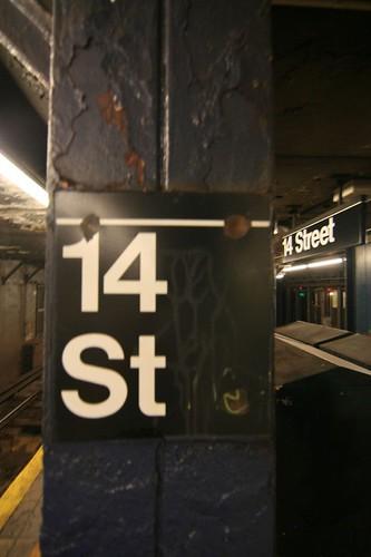 14th street subway station
