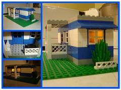 LEGO Trailer Mosaic