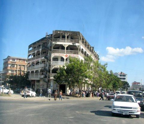 dar es salaam streets and buildings