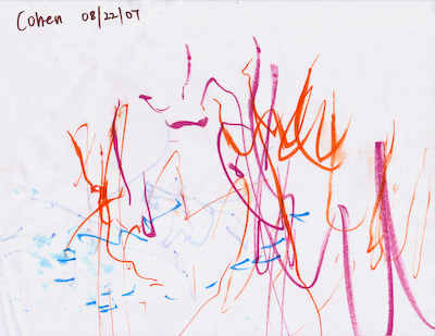 cohen's first drawing
