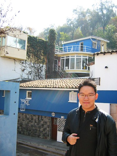 Me at La Chascona, Neruda's House (2)