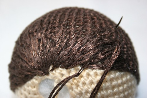 Amigurumi Hair - Photo Tutorial ❥ 4U hilariafina… | Puppe häkeln ... | 333x499