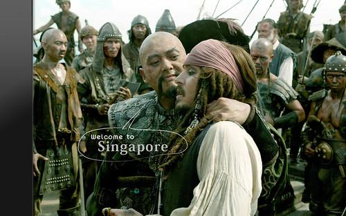 歡迎來新加坡