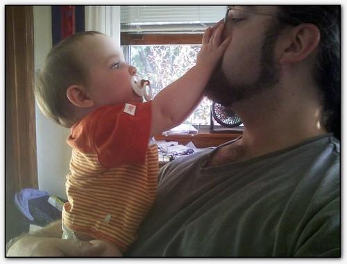 Talia & my nose