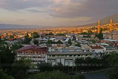 Bursa'da gn batm (Sinan Doan) Tags: architecture turkey trkiye s trkei cami bursa gnbatm  uluda  trkiy bursaulucami bursagnbatm bursacamileri