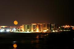 """""""Autumn Moon"""" (Jim Vail Photos) Tags: moon beach destin mywinners impressedbeauty impressedbyyourbeauty jimindestin jimvailphotos mykindofpicture mykindofpicturegallery theperfectphotographer"""