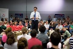 Gov. Mitt Romney at Saint Anselm College on 10/4/07