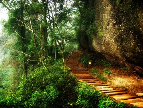 ?????&Mount Qingcheng por wolfmars.