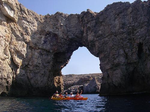 Vuelta a Menorca en kayak 12
