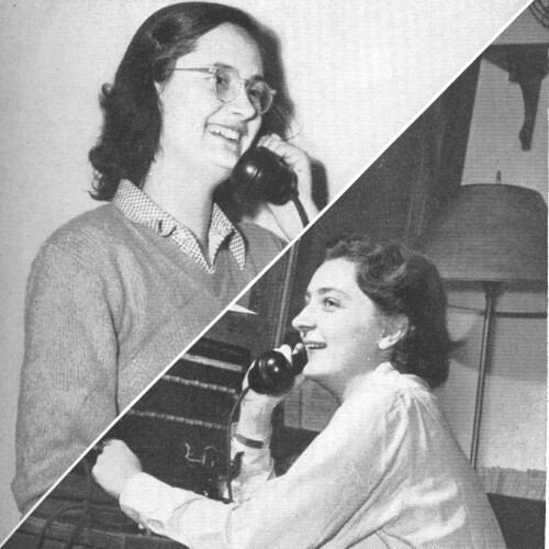 Student user and operator, ca.1960