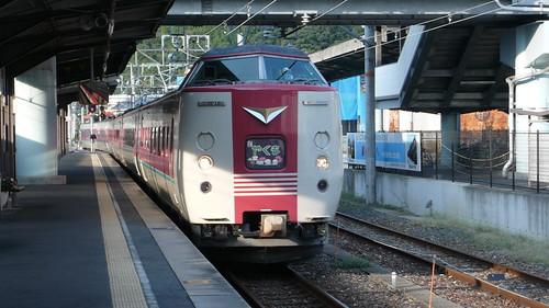 特急やくも@備中高梁駅 / Limitied Express Yakumo