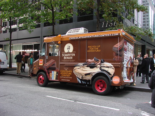 Scharffen Berger Truck