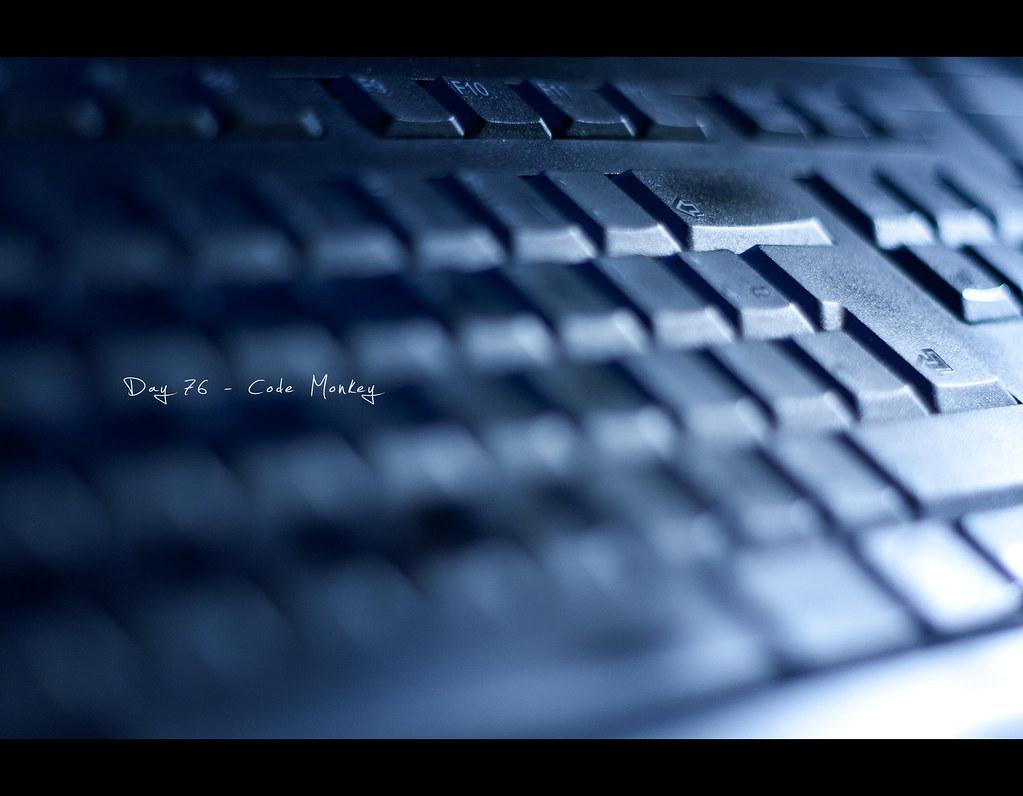 Day 76, Project 365, 076/365, Bokeh, project365, Canon 50mm, keyboard, bokeh