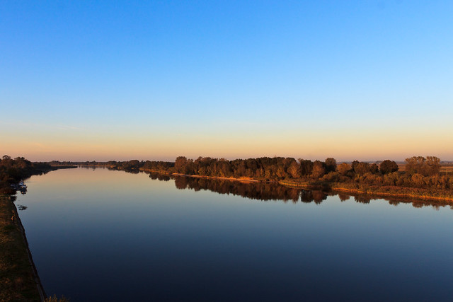 Rusnė | Nemunas nuo Rusnės tilto