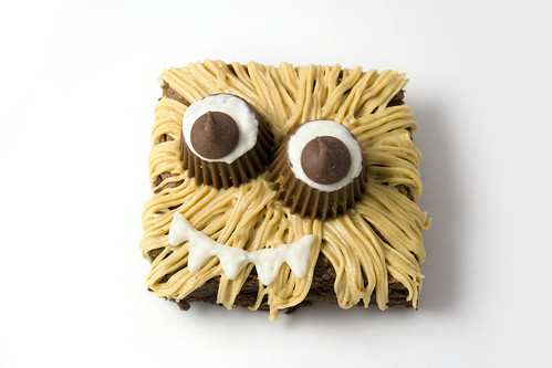 Halloween Brownie Monster