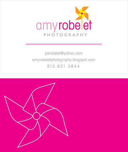 AR Photography Business Card