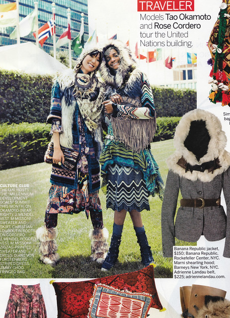 Vogue shoot, nomad/ethnic