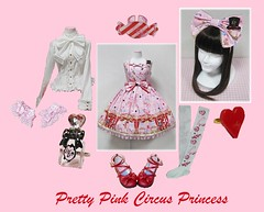 Pretty Pink Circus Princess