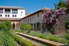 Alhambra (Danio (Кэйт)) Tags: españa architecture spain view andalucia alhambra andalusia danio widok zamek architektura hiszpania вид dziedziniec andaluzja испания андалузия аламбра katarzynamajgier
