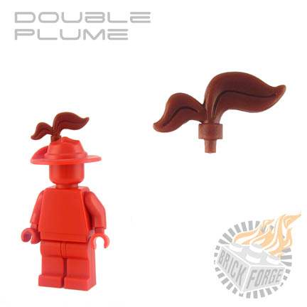 Double Plume - Reddish Brown