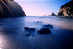 ~ All Else Falls Away (Mackeson) Tags: seascape film slidefilm pinhole zeroimage zero69 mackeson zeroimage69