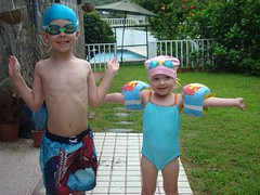 Ready to swim