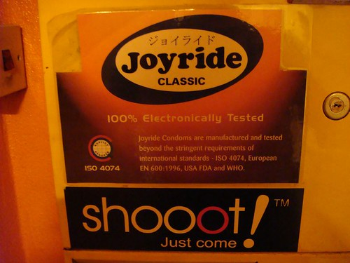 Joyride! Shoot! Just come...