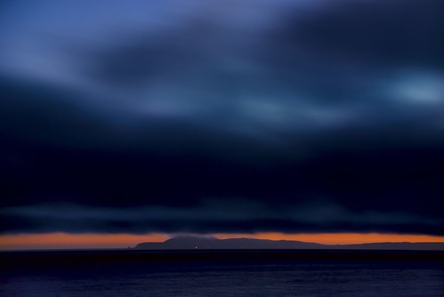 Blue Velvet Sunset