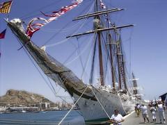 J.S. de Elcano (Spain) (DeFerrol) Tags: barco ship sebastian juan armada sail escuela tall buque goleta velero elcano navegacion supershot abigfave