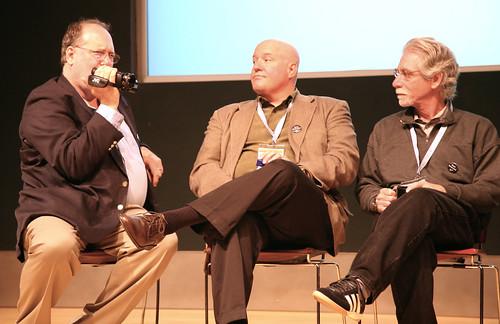Steve Gillmor, Dana Gardner, Dan Farber by Scott Beale, LaughingSquid
