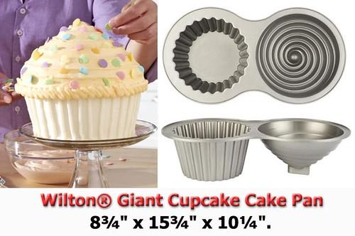 How to make a giant cupcake yuppiechef magazine.