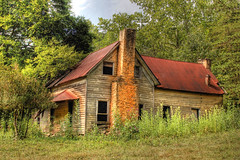 Talking Rock (Patrick Henson) Tags: old abandoned farmhouse rural georgia shack hdr tinroof ellijay talkingrock
