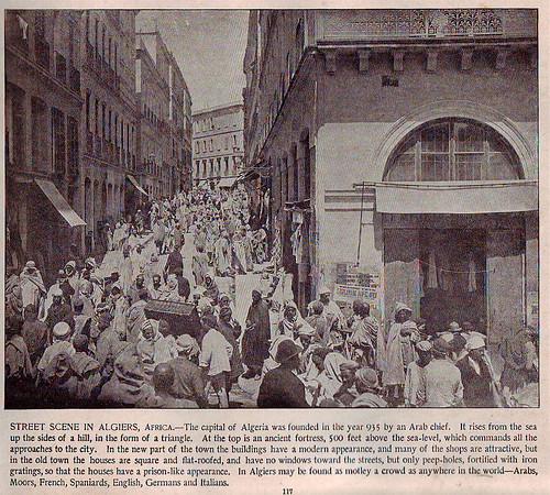 algiers street scene