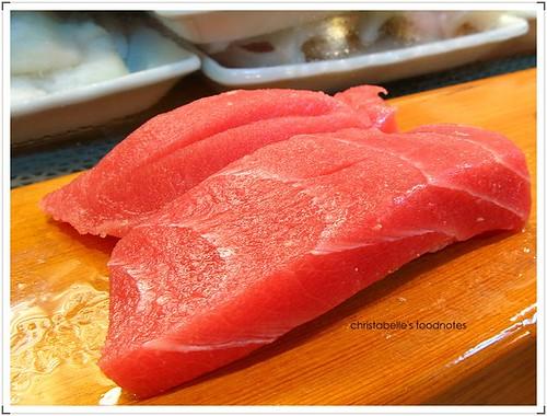 阿吉師鮪魚握壽司