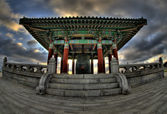 The Korean Friendship Bell (Nick  Carlson) Tags: pictures california photography photo photos pics carlson nick picture pic hdr highdynamicrange sanpedro hdri koreanbell pointfermin tonemapped losangelesport nickcarlson truelifeimages harborarea nickcarlsonphotography