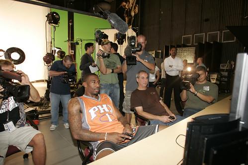 Amare testing NBA 08.