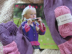 Ting-a-Ling from Miss Bea's Band by Louisa Harding (flaring) Tags: knitting rowan tingaling louisaharding