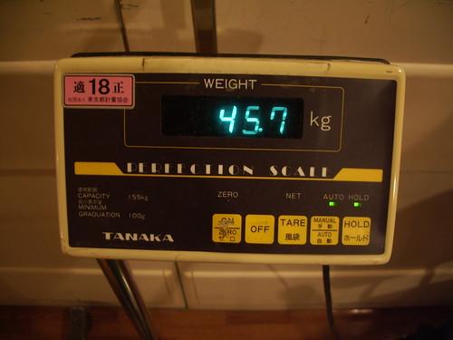 45.7kg
