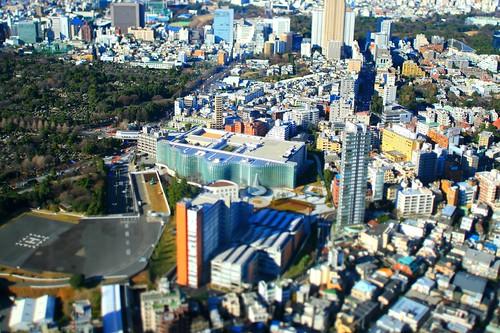 Nakayan's tilt-shift -the national art center-Tokyo--箱庭国立新美術館-ea03d43c
