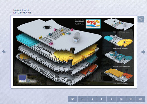3Dの模型マップ