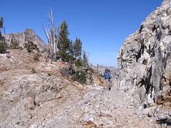 Jim at Snowyside Pass