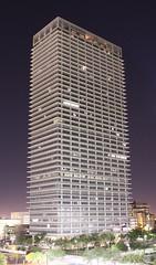 Exxon Building (dude no!) Tags: night downtown texas houston gas oil exxonbuilding