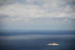 Oceanic Minimalism (Kaoscube) Tags: ocean africa blue sea sky reflection water clouds landscape island nuvole mare dream stormy cielo seychelles minimalism acqua minimalist mystic paesaggio enchanted sera oceano isola riflesso minimalista mah kaoscube