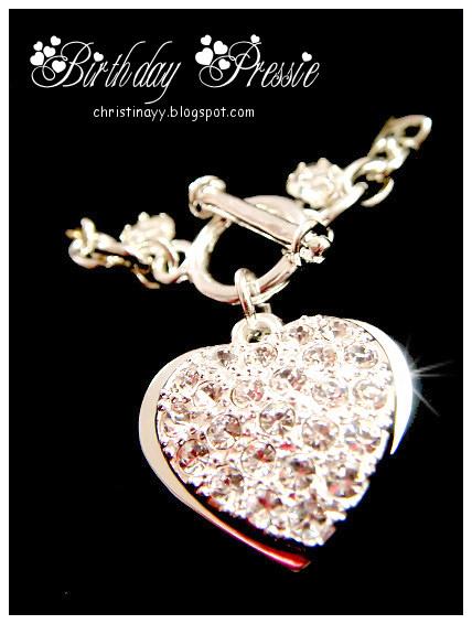 Birthday Pressie: Heart Shape Necklace