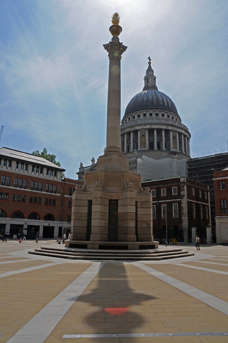 Paternoster Square and St Paul's by Francesco Gasparetti