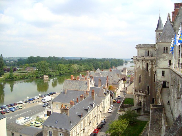 Amboise & the Loire river, France