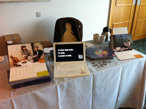 Our TAM London stall