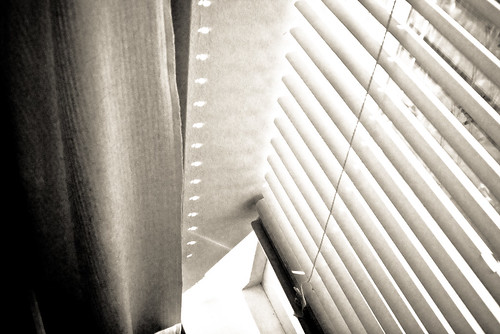 Venetian blinds - is this minimalist photography ?